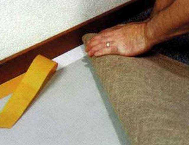 Укладка ковролина: своими руками, видео, пошаговая инструкция, технология, на деревянный пол